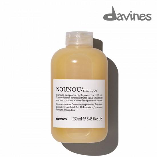 Davines Nounou barojošs šampūns ķīmiski apstrādātiem vai trausliem matiem 250ml