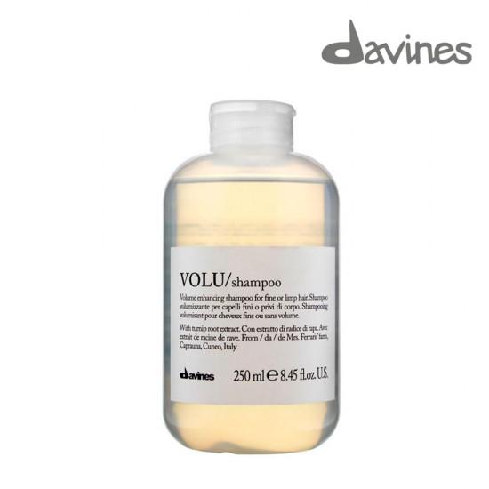 Davines Volu šampūns matu apjomam plāniem vai noplakušiem matiem 250ml