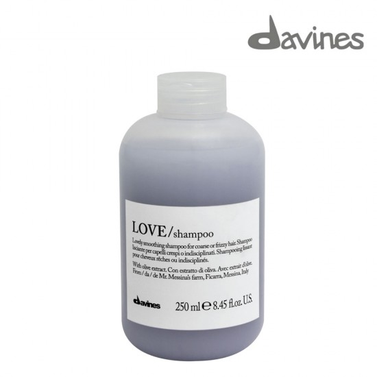 Davines Love matus nogludinošs šampūns pūkainiem un nepaklausīgiem matiem 250ml