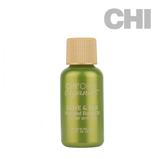 CHI Olive Organics Olive & Silk Hair and Body Oil eļļa 15ml