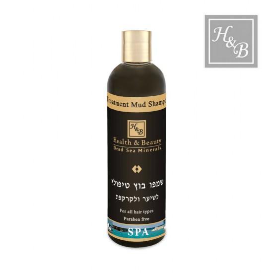 Health&Beauty šampūns matiem ar ārstnieciskajiem dubļiem 400ml