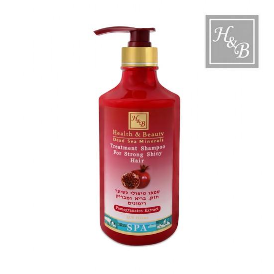 Health&Beauty stiprinošs šampūns matiem ar granātābola ekstraktu 780ml