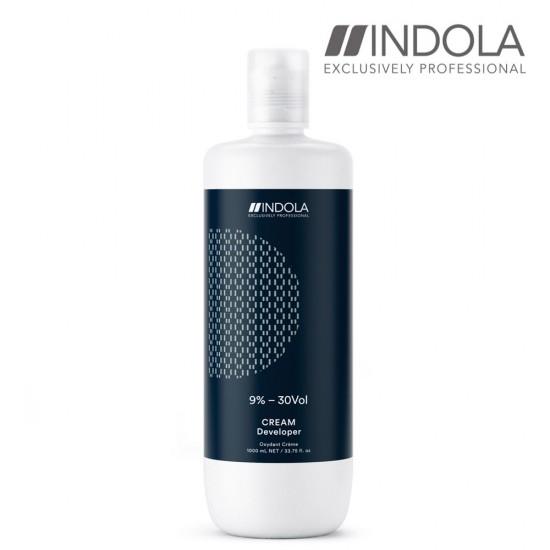 Indola Cream Developer krēma aktivizētājs 9% - 30 Vol 1L