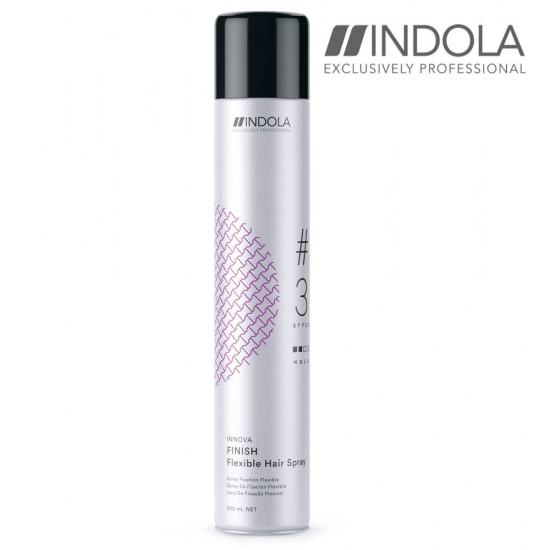 Indola Innova Finish elastīgas fiksācijas matu laka 500ml