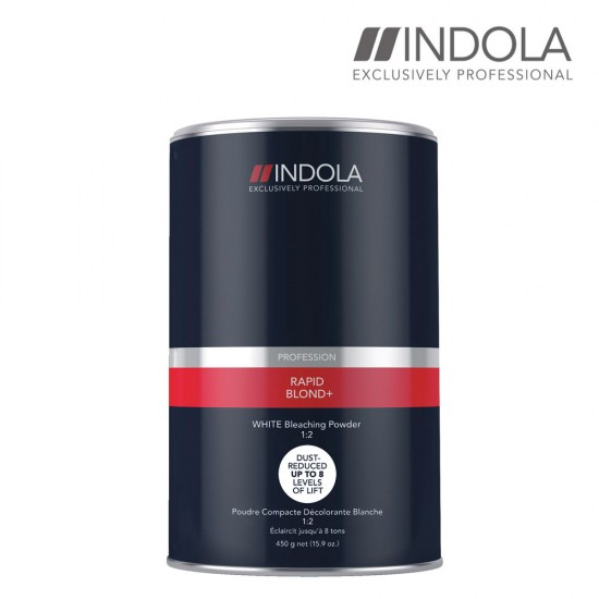 Indola Rapid Blond+ balts balinošais pulveris 450g