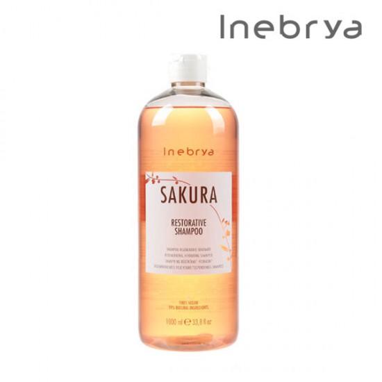 Inebrya Sakura Restorative šampūns 1L
