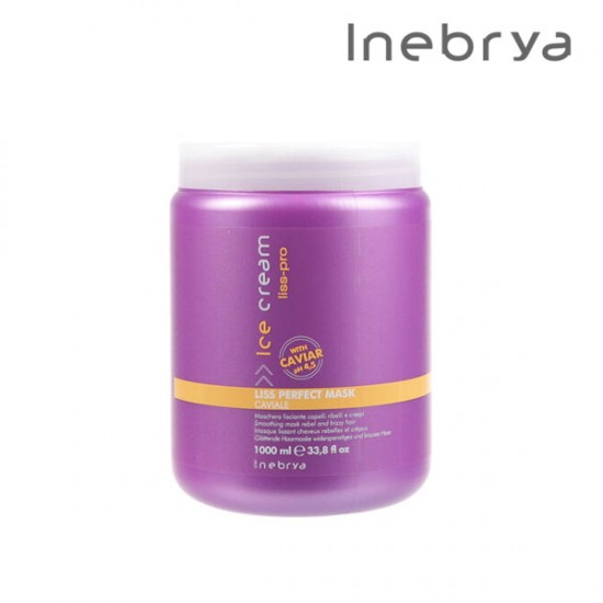 Inebrya Ice Cream Liss-Pro Perfect matu maska 1L