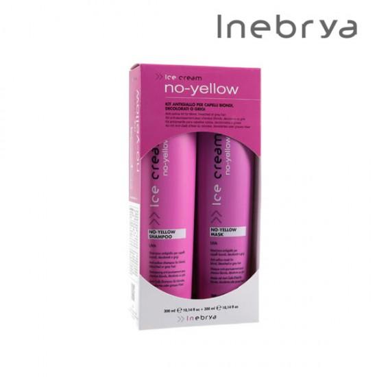 Inebrya Ice Cream No-Yellow Kit komplekts 300ml+300ml