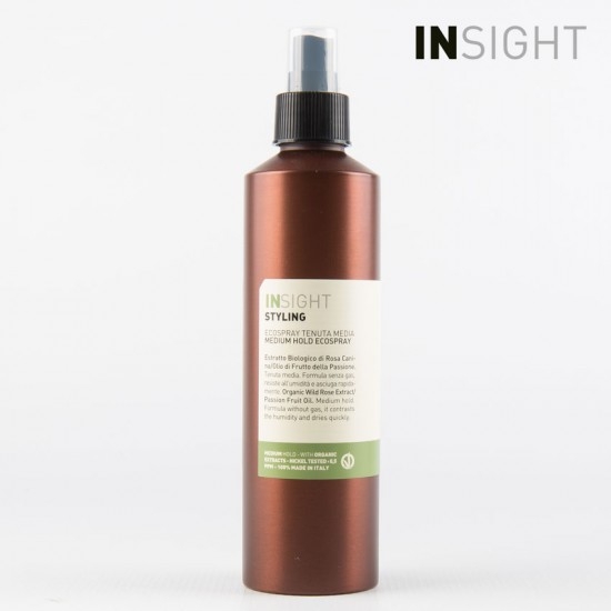 Insight Styling Strong Hold Ecospray ekolaka stipras fiksācijas 250ml