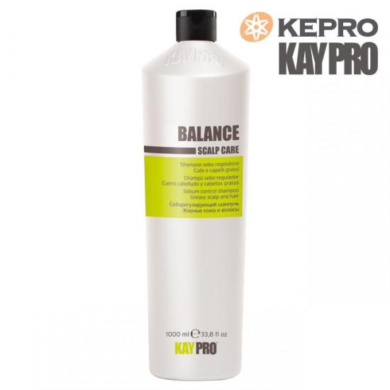 Kepro Kaypro Balance Scalp care šampūns taukainiem matiem 1l