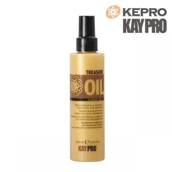 Kepro Treasure Oil 5 luxury oils divfāžu kondicionieris 200ml
