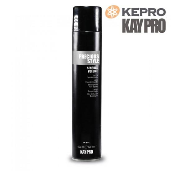 KayPro Precious Style Sensual Volume stipras fiksācijas matu laka 500ml