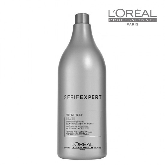 Loreal Serie Expert Silver šampūns sirmiem vai balinātiem matiem 1,5L