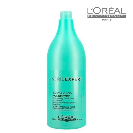 Loreal Serie Expert Volumetry šampūns apjomam smalkiem matiem 1,5L
