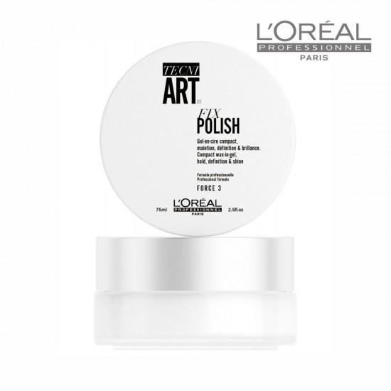 Loreal Tecni Art Fix Polish Wax-In-Gel vasks matu fiksēšanai 75ml