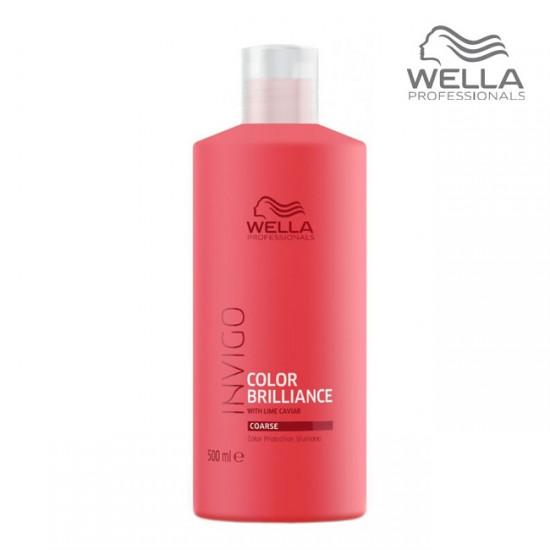 Wella Invigo Color Brilliance Shampoo Coarse Šampūns krāsotiem matiem 500ml