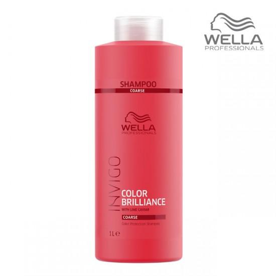 Wella Invigo Color Brilliance Shampoo Coarse Šampūns krāsotiem matiem 1000ml